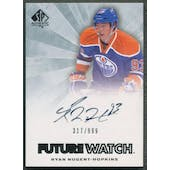 2011/12 SP Authentic #248 Ryan Nugent-Hopkins Rookie Auto #317/999