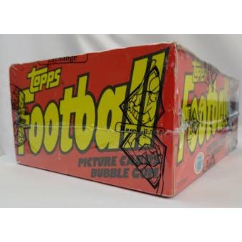 1981 Topps Football Wax Box BBCE (Reed Buy)