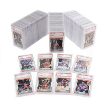 1986/87 Fleer Basketball PSA 8 Complete Set - Jordan RC! Card #1-132