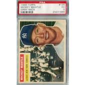 1956 Topps Baseball #135 Mickey Mantle PSA 5  (EX) *1866 (Gray Back) (Reed Buy)