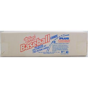 1992 Topps Baseball Factory Set (White Box) (Reed Buy)