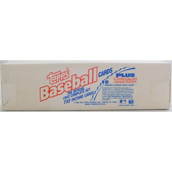 1992 Topps Baseball Factory Set (White Box) (Reed Buy)