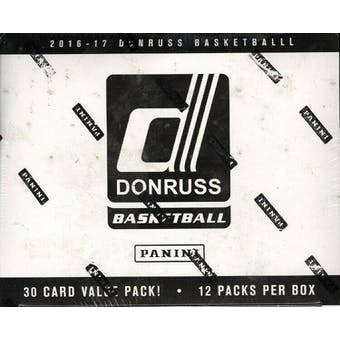 2016/17 Panini Donruss Basketball Multi/Cello Box