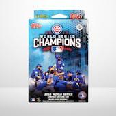 Chicago Cubs 2016 Topps Baseball World Series Champions Hanger Box