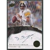 2008 Exquisite Collection #EIBR Ben Roethlisberger Inscriptions Auto #15/30