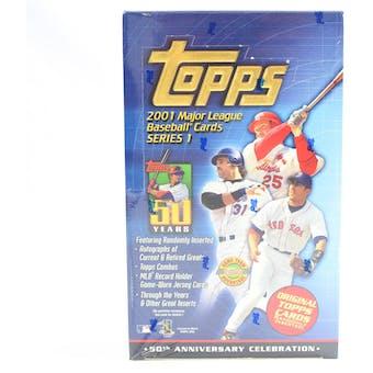 2001 Topps Series 1 Baseball Jumbo Box (Reed Buy)