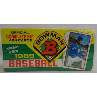 1989 Bowman Baseball Factory Set (Colorful Box) (Reed Buy)