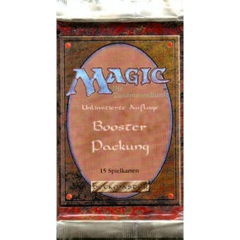 Magic the Gathering 3rd Edition (Revised) Booster Pack (German) FWB