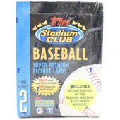 1993 Topps Stadium Club Series 2 Baseball Hobby Box (Reed Buy)