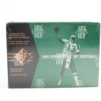 1995 Upper Deck SP Football Hobby Box (Reed Buy)