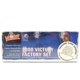 2000 Upper Deck Victory Baseball Factory Set (Box) (Reed Buy)