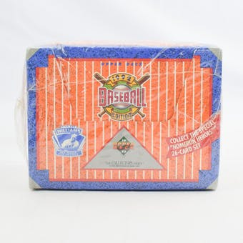 1992 Upper Deck Low # Baseball Jumbo Box (Reed Buy)