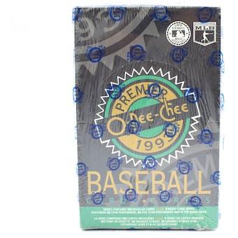 1993 O-Pee-Chee Premier Baseball Wax Box