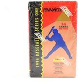 1994 Pinnacle Series 1 Baseball Retail Box (Reed Buy)