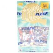 1994 Fleer Ultra Series 2 Football Hobby Box (Reed Buy)