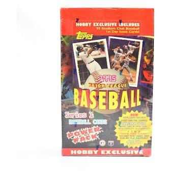1995 Topps Series 1 Baseball Hobby Box (Reed Buy)