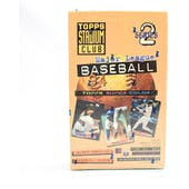 1994 Topps Stadium Club Series 2 Baseball Hobby Box (Reed Buy)