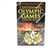 1996 Collect-A-Card Centenniel Olympic Games Volume 1 Wax Box (Reed Buy)