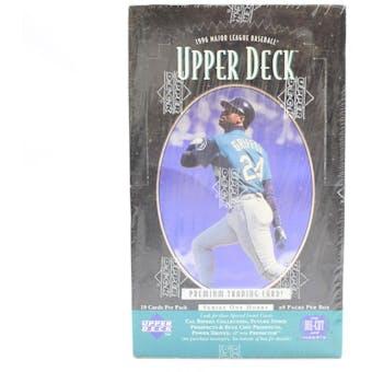 1996 Upper Deck Series 1 Baseball Hobby Box (Reed Buy)