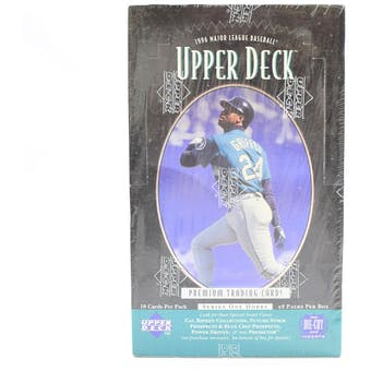 1996 Upper Deck Series 1 Baseball Hobby Box