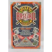 1992 Upper Deck High # Baseball Hobby Box (Reed Buy)