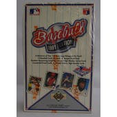 1991 Upper Deck High # Baseball Wax Box (Reed Buy)