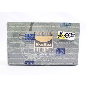 1995 Skybox Premium Football Hobby Box (Reed Buy)
