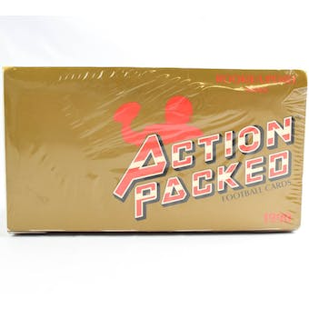 1990 Action Packed Rookie Update Football Wax Box (Reed Buy)