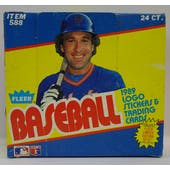 1989 Fleer Baseball Cello Box (Reed Buy)