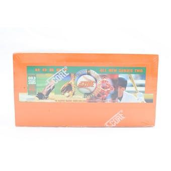 1994 Score Series 2 Baseball Hobby Box (Reed Buy)