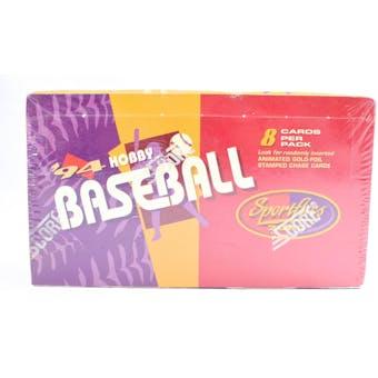 1994 Pinnacle Sportflics Baseball Hobby Box (Reed Buy)