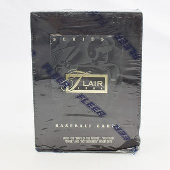 1994 Flair Series 1 Baseball Hobby Box (Reed Buy)