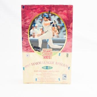 1997 Topps Stadium Club Series 2 Baseball Hobby Box (Reed Buy)