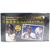 2000 Pacific Aurora Baseball Hobby Box (Reed Buy)