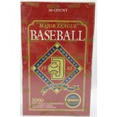 1992 Donruss Series 2 Baseball Hobby Box (Reed Buy)