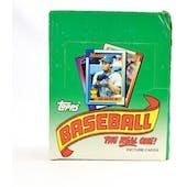 1990 Topps Baseball Rack Box (Reed Buy)