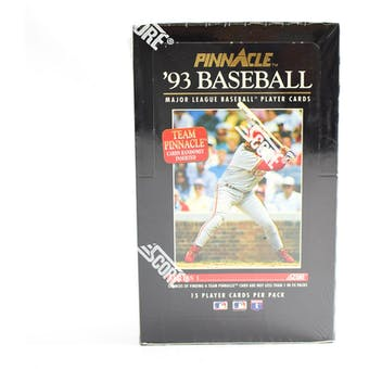 1993 Pinnacle Series 1 Baseball Hobby Box (Reed Buy)