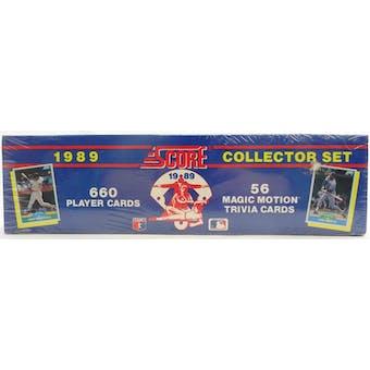 1989 Score Baseball Factory Set (Reed Buy)