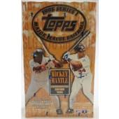 1996 Topps Series 1 Baseball 36 Pack Box (Reed Buy)