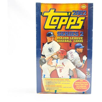 2002 Topps Series 2 Baseball Jumbo Box (Reed Buy)