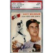 1954 Topps Baseball #36 Hoyt Wilhelm PSA 7 (NM) *9535 (Reed Buy)
