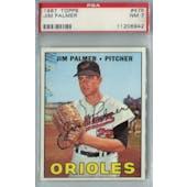 1967 Topps Baseball #475 Jim Palmer PSA 7 (NM) *6942 (Reed Buy)