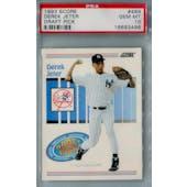 1993 Score Baseball #489 Derek Jeter RC PSA 10 (Gem Mint) *3498 (Reed Buy)