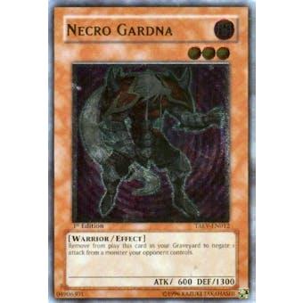 Yu-Gi-Oh Tactical Evolution Single Necro Gardna Ultimate Rare - SLIGHT PLAY (SP)