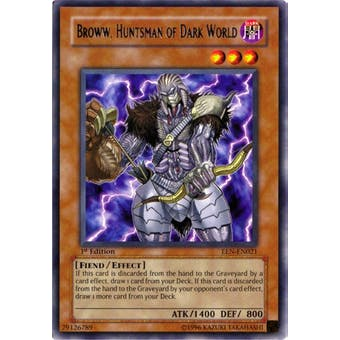 Yu-Gi-Oh Elemental Energy Single Broww, Huntsman of Dark World Ultimate Rare