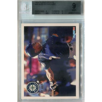 1994 Fleer Update Baseball #86 Alex Rodriguez RC BVG 9 (Mint) *0825 (Reed Buy)