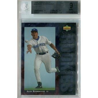 1994 Upper Deck Baseball #24 Alex Rodriguez RC BVG 9 (Mint) *9852 (Reed Buy)