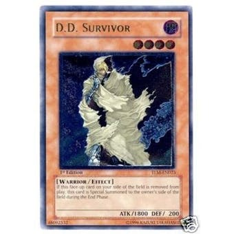 Yu-Gi-Oh The Lost Millennium Single D.D. Survivor Ultimate Rare