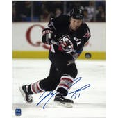 Brian Campbell Autographed Buffalo Sabres 8x10 Black Jersey Photo