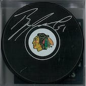 Brian Campbell Autographed Chicago Black Hawks Hockey Puck